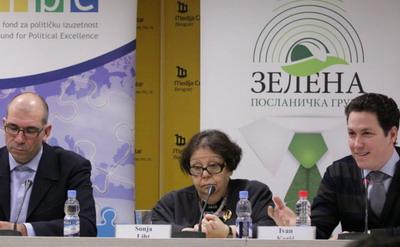 Представљање новог сазива Зелене посланичке групе
